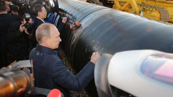 Marile proiecte Gazprom, blocate. Niciun gazoduct nu devine realitate