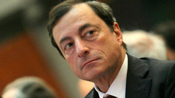 Mario Draghi: BCE sa adopte o politica monetara expansiva pentru a sprijini cresterea zonei euro