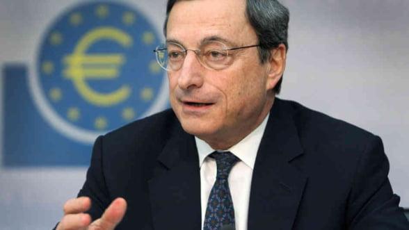 Mario Draghi cere implementarea rapida a noilor reglementari privind salvarea bancilor