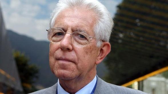 Mario Monti: Italia va inregistra crestere economica in 2013