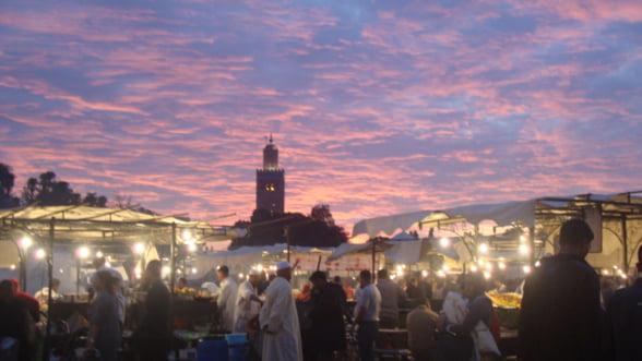 Marrakech, perla turistica a Marocului