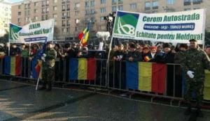 Mars din Moldova pana la Bucuresti: Guvernul sa inceteze degringolada si sa construiasca autostrada