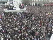 Mars impresionant de solidaritate la Paris. Amenintare cu bomba la ziarul belgian Le Soir
