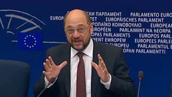 Martin Schulz: Uniunea Europeana sustine Romania
