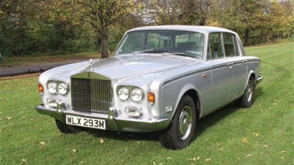 Masina Rolls - Royce detinuta de Freddie Mercury, scoasa la licitatie. Vezi pretul