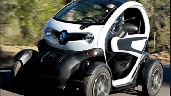 Masina electrica Renault Twizy, disponibila in Romania. Vezi pretul
