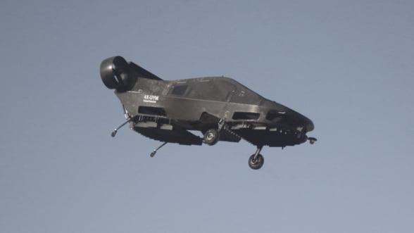 Masina zburatoare, tot mai aproape de realitate. Costa 14 milioane de dolari si vine din Israel