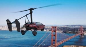Masina zburatoare PAL-V Liberty va fi lansata in 2018 - cat costa si ce stie sa faca (Video)