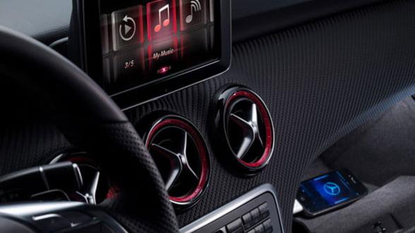 Masinile Mercedes din clasa A, compatibile cu iPhone 4S