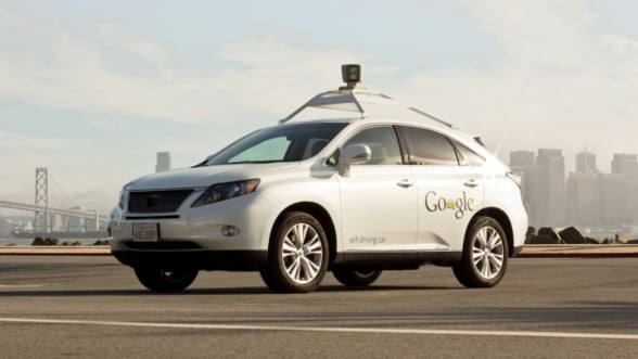 Masinile fara sofer dezvoltate de Google pot circula si in traficul urban