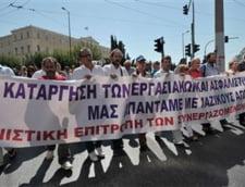 Mass-media din Grecia intra in greva, dupa inchiderea televiziunii publice