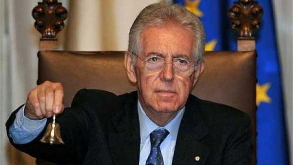 Masurile de austeritate ale Italiei, aprobate de presedinte