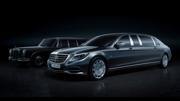 Maybach-Pullman, o noua dimensiune a luxului de la Mercedes