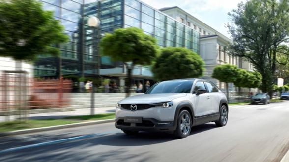 Mazda lanseaza primul model electric de serie: MX-30