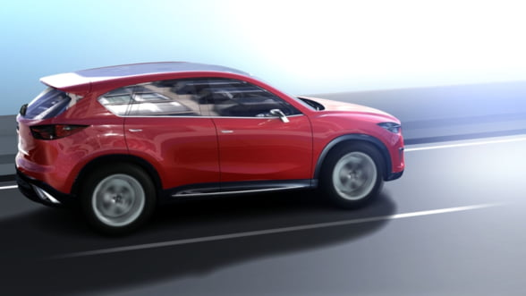 Mazda si-a adus noul model CX-5 in Romania