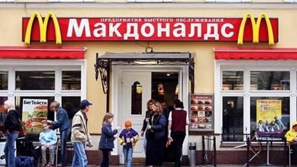 McDonald's, inlocuit cu McPutin? Rusii isi fac un lant de fast-food patriotic