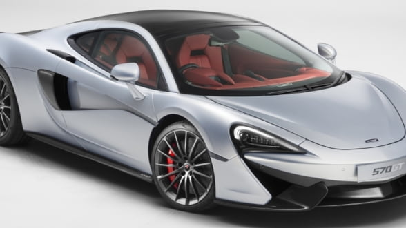 McLaren 570GT, singurul bolid din clasa sa care vine cu loc pentru bagaje (Video)