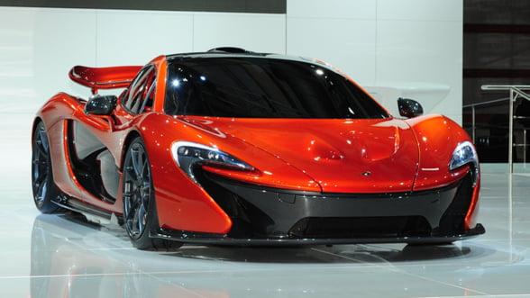 McLaren vs Ferrari. Noul model P1 ajunge in Europa si costa 1,1 mil de dolari