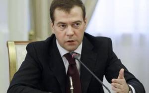 Medvedev vrea un gazoduct transcaspic