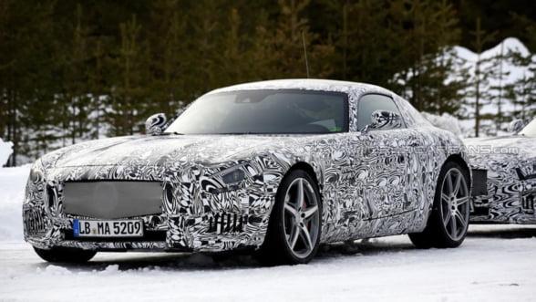 Mercedes AMG GT, extravaganta fortei pure invelita in lux