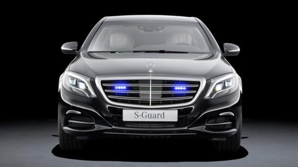 Mercedes-Benz S600 Guard: Intra in tancul tau de oras!