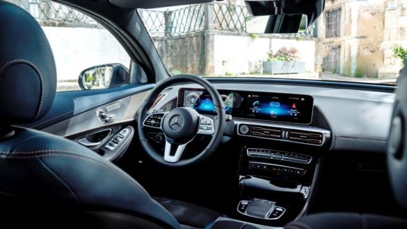 Mercedes-Benz lanseaza primul sau SUV complet electric