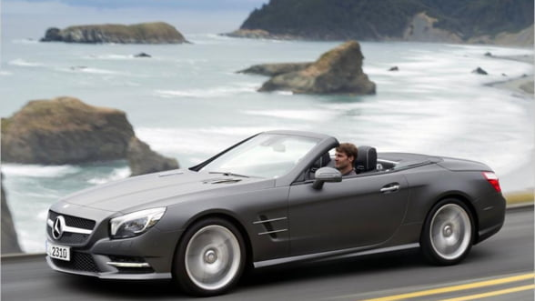 Mercedes SL400, masina creata cu un singur scop: placerea de a porni la drum