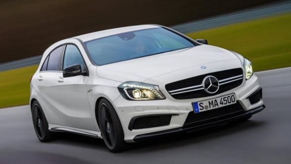 Mercedes a vandut un numar record de masini in 2013