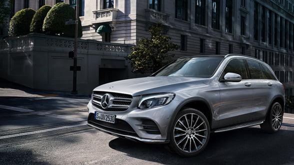 Mercedes contraataca cu un SUV de exceptie: AMG GLC43 Coupe, inconfundabil