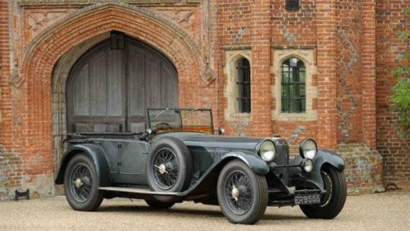 Mercedes din 1927 scos la licitatie: N-a fost niciodata reconditionat (Galerie Foto)