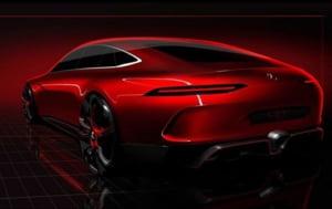 Mercedes prezinta prima imagine a viitorului GT Concept