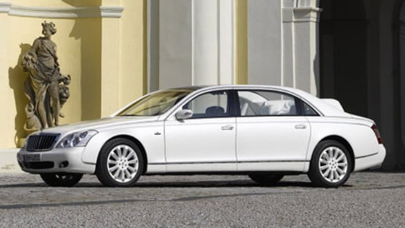 Mercedes va relansa marca de lux Maybach