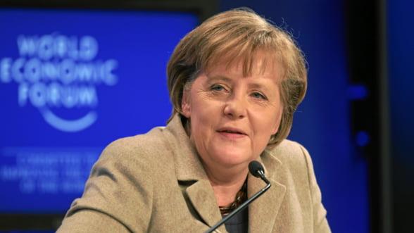 Merkel: Europa nu poate stimula cresterea economica prin cheltuieli bugetare
