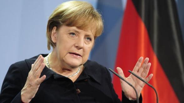 Merkel, impotriva reducerii emisiilor de dioxid de carbon pentru masinile noi