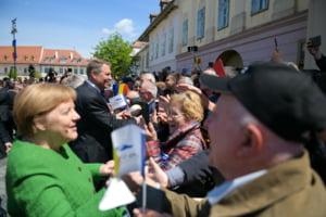 Merkel, la Sibiu: Pentru noi a fost important sa mai spunem o data ca luptam pentru o Europa a valorilor