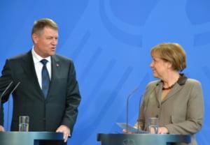 Merkel a vorbit cu Iohannis de criza politica: Ne dorim intarirea democratiei si statului de drept in Romania
