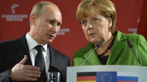 """Merkel anunta ca Germania este pregatita de un """"razboi lung"""" cu Rusia, pentru Ucraina"""