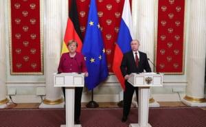 Merkel are nevoie de Putin, Europa are nevoie de Rusia