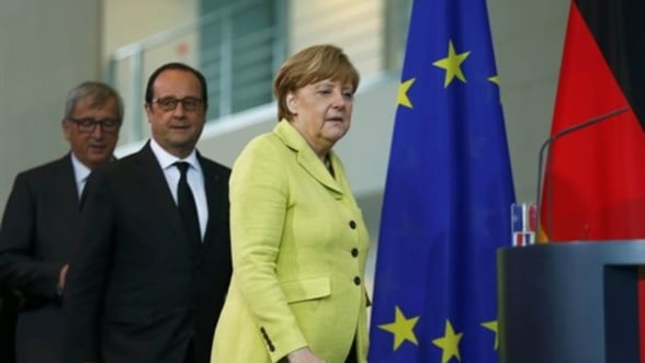 Merkel isi pierde rabdarea cu Grecia? Sedinta-fulger la Berlin pentru datornicii Europei