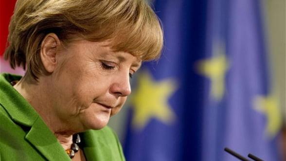 Merkel isi reafirma sustinerea fata de euro