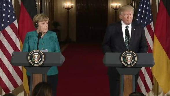 Merkel pune paie pe foc inainte de summitul G20. E nemultumita de politica lui Trump