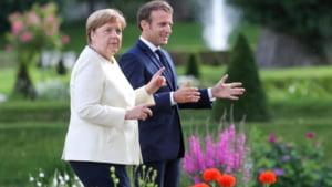 Merkel si Macron, indemn catre tarile europene sa ajunga la un acord in privinta relansarii economice