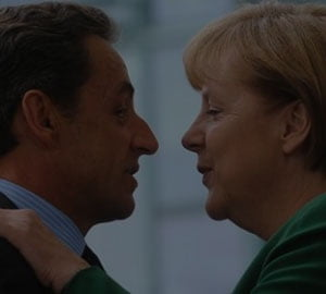 Merkel si Sarkozy discuta solutii pentru criza datoriilor si pentru sustinerea bancilor