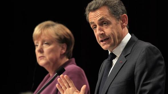 Merkel si Sarkozy s-au pus de acord chiar din prima zi de intalniri