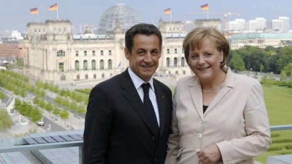 Merkel si Sarkozy vor sa creeze un spatiu Schengen fiscal