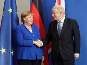 Merkel vine cu lamuriri, dupa declaratiile lui Boris Johnson: Nu era optimista legat de Brexit