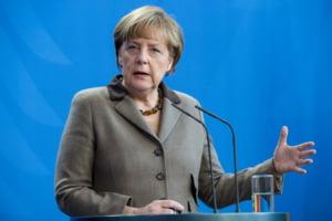 Merkel vrea sa se intalneasca cu Vladimir Putin in curand