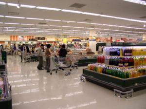 Mersul taxelor in hipermarket