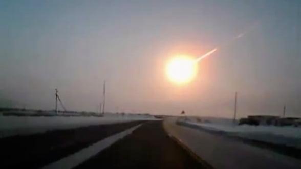 Meteoritul din Rusia a fost mai mare decat a estimat NASA initial
