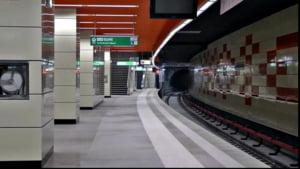 """Metrorex, despre M5: """"Mai sunt finisaje de completat in statiile Academia Militara, Eroilor si Parc Drumul Taberei. Este posibil sa apara si anumite nesincronizari"""""""